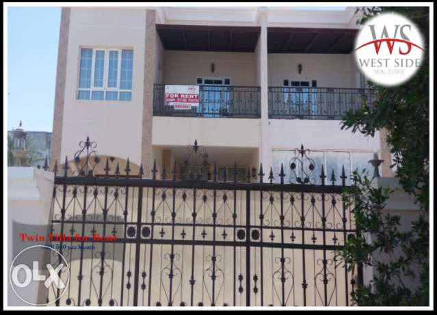 WS 015 - Twin Villa for Rent