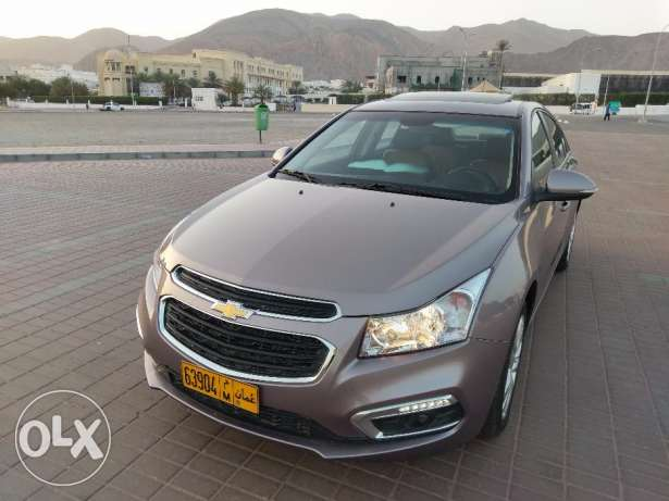 Pay 105 RO monthly Chevrolet cruze 2016 British owner 11000 km as new