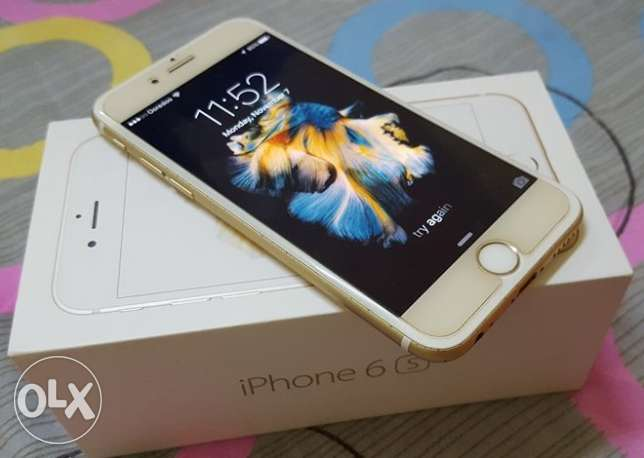 IPhone 6S (64GB) Gold (Excellent Condition) مسقط -  1
