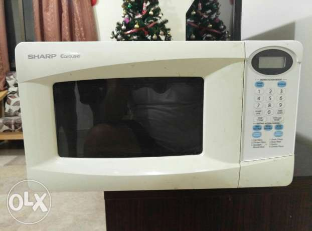 Sharp Carousel Microwave مسقط -  2