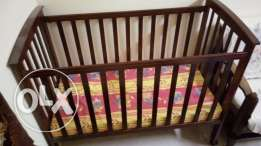 Wooden Cradle - Not used at all - Movable and Adjustable