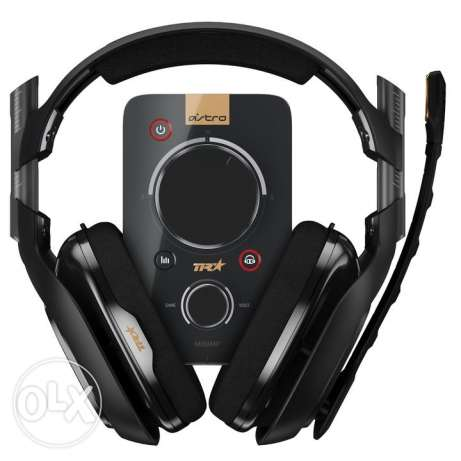 ASTRO Gaming A40 TR Headset + MixAmp Pro TR (with product box)