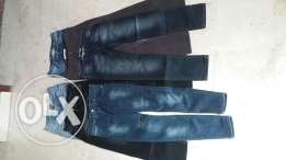 6 paris of new jeans, size S