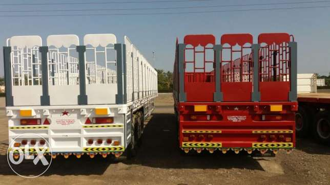 2017 model 65 ton capacity flat bed trailers for sale