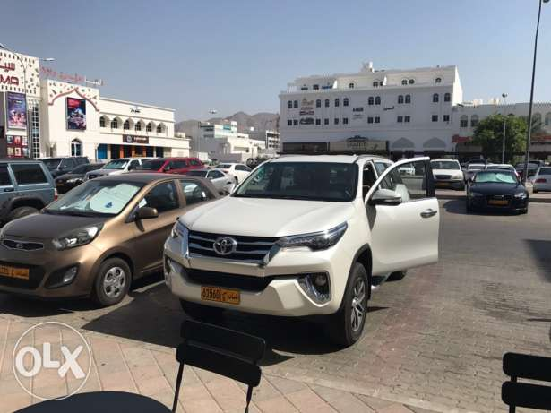 toyota fortuner used for few months