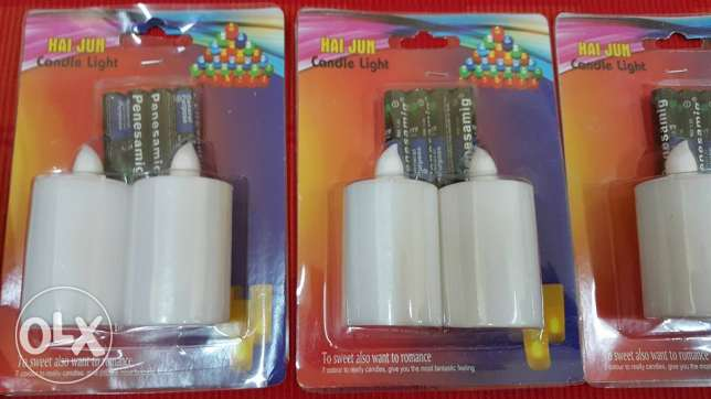led candles with FREE battery-colour changing مسقط -  7