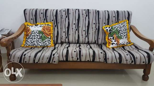 3 + 2 seater sofa with cushions