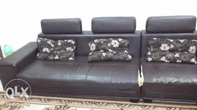 6 seater Sofa set مسقط -  3