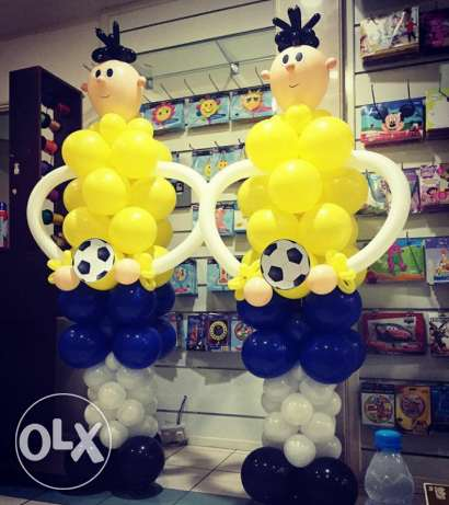 hi sir i wand balloon shop work i do all party if you want opan shop o مسقط -  4