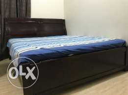 Wooden bed. For sale
