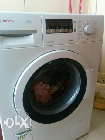 Very good Bosch front loading washing machine for sale