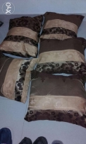 New Brown cushions 5 pcs