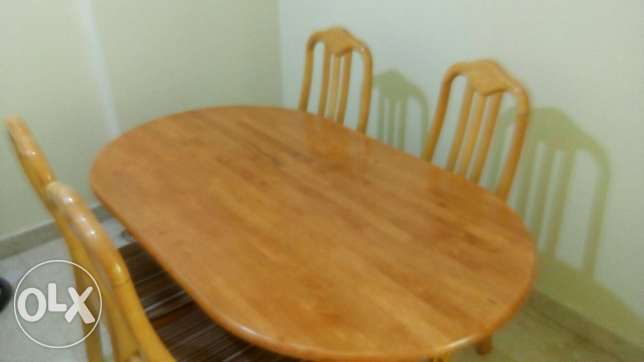 dining table with 4 seats for sale روي -  1