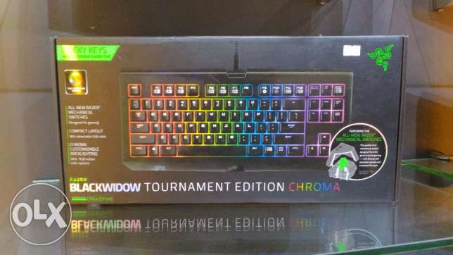 Gaming Keyboard Razer Blackwidow القرم -  1