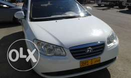 Hyundai Elantra, At, white, 2009