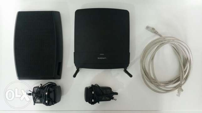 WiFi router EA6100 + 3TB Seagate Central + Network cable CAT. 6