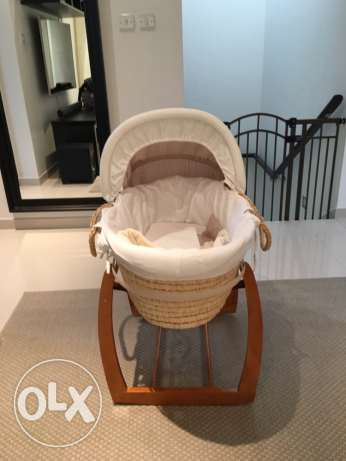 Moses basket mamas and papas مسقط -  1