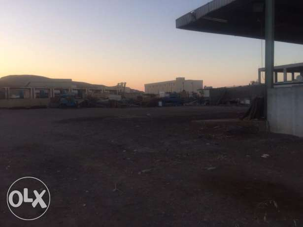 big Open Land for Rent in Rusayl Industrial Area