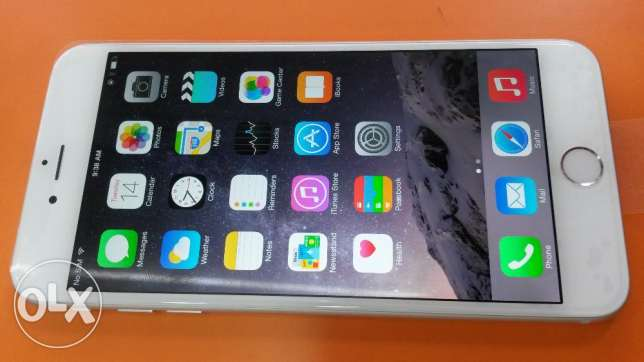 Iphone6 Plus 128GB silver colour Fresh And Good Condition iOS 10.2.1