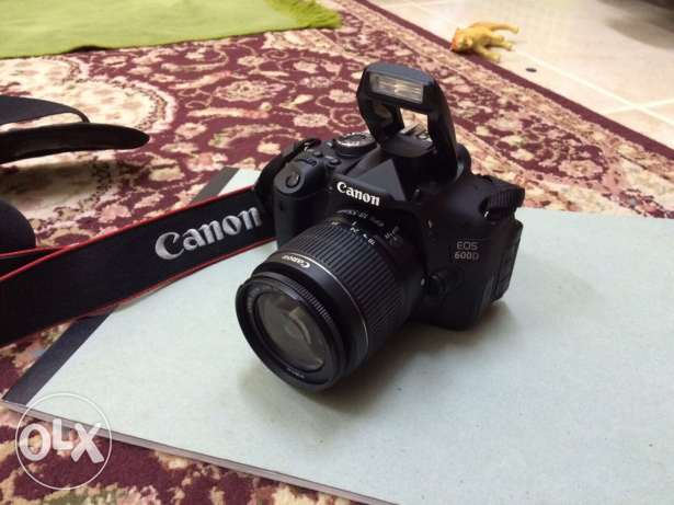 canon 600D with box and all accessories