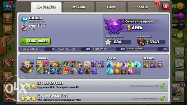Clash of Clan TH11 new