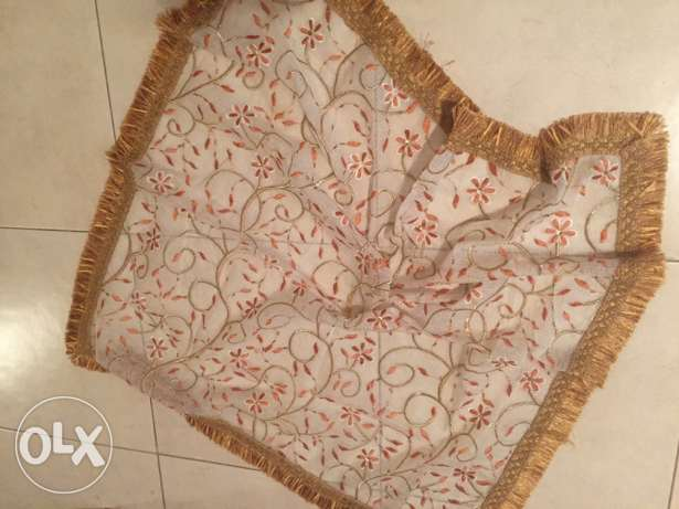 beautiful Indian coffee table cover / throw