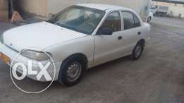 Hyundai accent saloon 1997 for sale