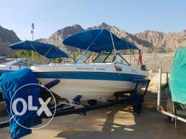 19ft gulf craft open day boat for sale
