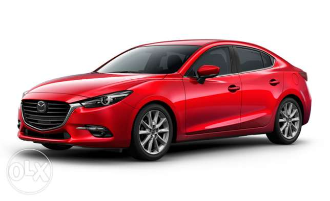 New Mazda 3 2017 financed 2000 km