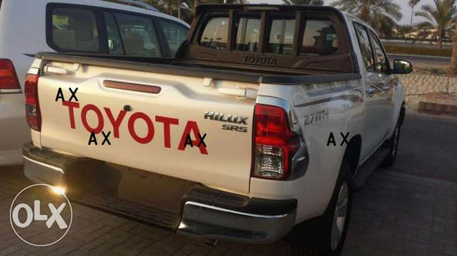 Toyota Hilux 2.7 A/T 4WD - ZERO KMS for sale ! السيب -  2