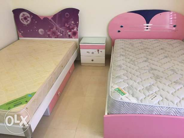 Beds with mattress all for 75