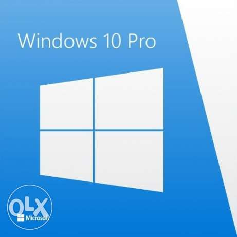 Windows 10 PRO OEM مسقط -  1
