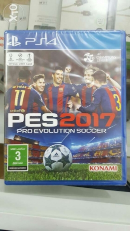 Ps4 game pes2017 صحم -  1