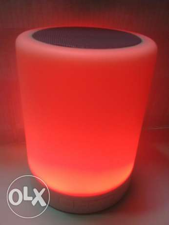 Touch lamp bluetooth speaker السيب -  6