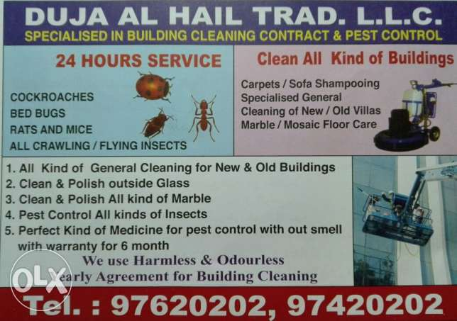 Professional Pest control contract Services