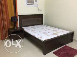 Bed with two side tables from homecentre for sale
