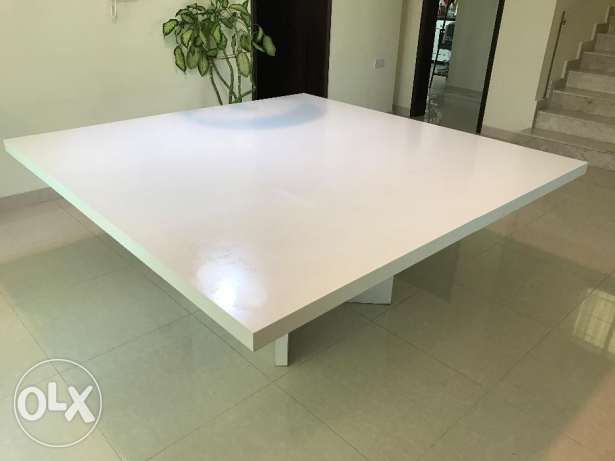 Beautiful design dining table, sits up to people