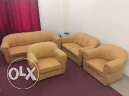 Attractive Yellow Colour, Fabric Material Sofa for Sale, Best Price