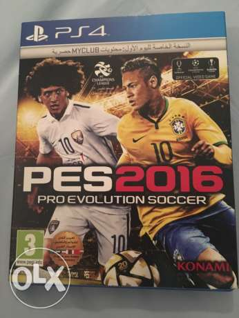 PES 2016 good condition for PS4