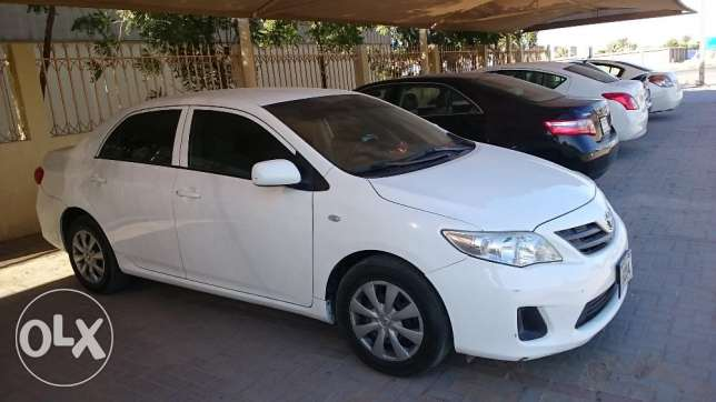 1.6 Corolla 2013 model for sell urgently بوشر -  2