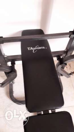 Bench with weights مطرح -  2
