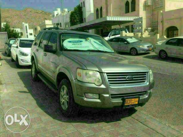 Ford Explorer 2008 Model In Very Good Condition مسقط -  1