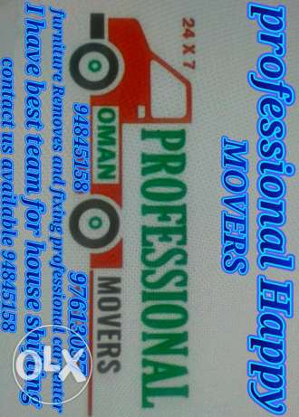 Professional carpenter I have professional movers
