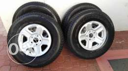 Tires Dueler 245/75R16 and Rims