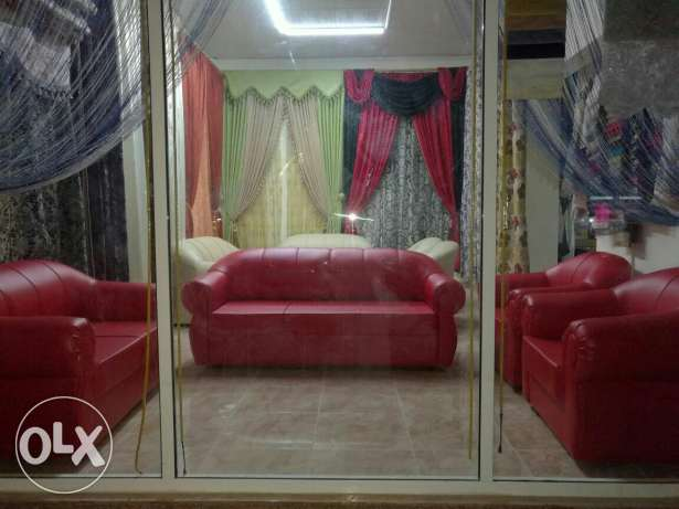 Curtain and sofa making and fixing