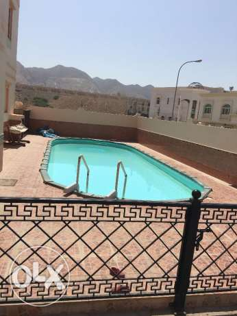 furnished villa for rent in bosher almouna for 1200 rial مسقط -  1