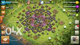 clash of clans level 9