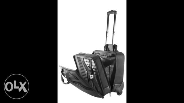 SAMSONITE PRO-TECT Rolling Tote Laptop Business Bag Suitcase 16""