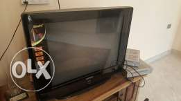 Un used tv and receiver for sale تلفزيون ورسيفر ب 38 ريال