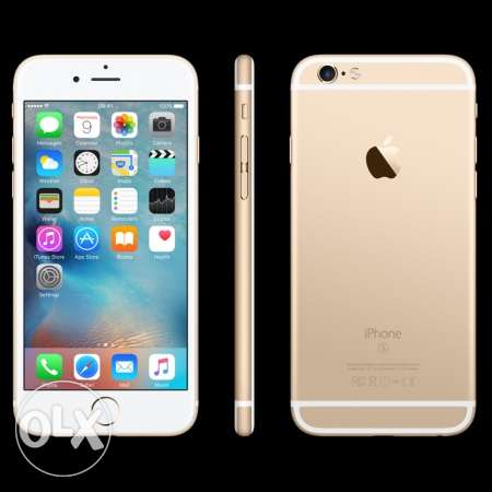 iPhone 6s 64gb golden color